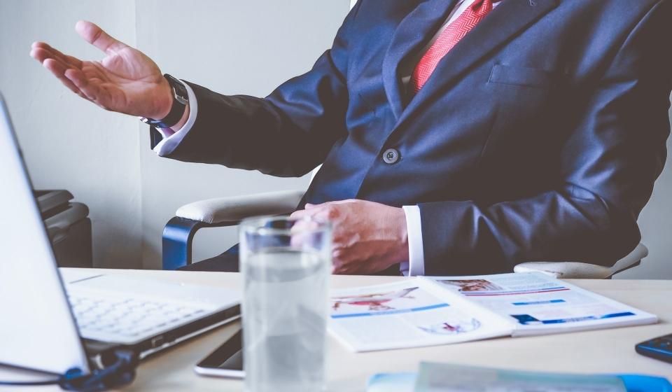 Gerenciamento empresarial eficiente e empreendimentos comerciais